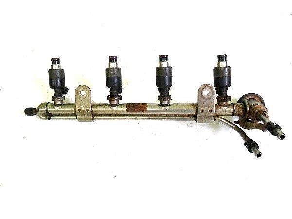 Flauta com bicos injetores Corsa 1.6 8v Mpfi