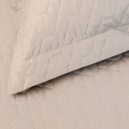 Colcha Matelassê Vida Bela + Porta Travesseiro Fendi