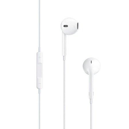 Fone de Ouvido Apple, EarPods, com Controle e Microfone