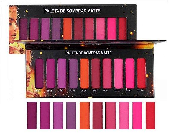 PALETA DE SOMBRAS MATTE 7792 - LUDURANA