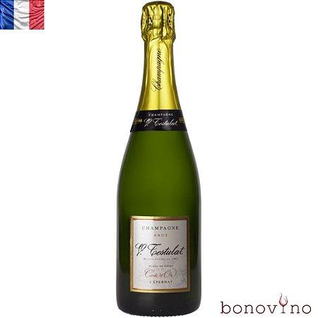 Champagne Testulat Carte d'Or Brut Blanc de Noirs NV