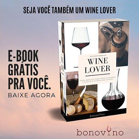E-BOOK GRÁTIS - WINE LOVER *link na descrição