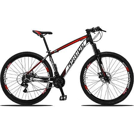 Bicicleta Aro 29 Dropp Z3 21v Câmbios Shimano Freio a Disco Hidráulico - DRPZ321VFHPTVMBC15