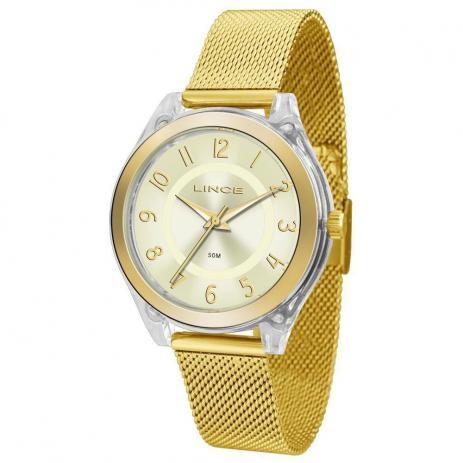 38b9a32a97d Relógio Feminino Lince em até 12x - Promoção Armazém Estilo ...