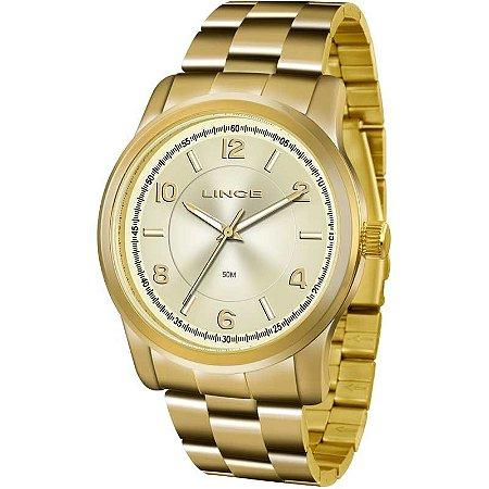 1c704985fb8 Relógio Feminino Lince LRG4431PC1KX - Dourado em até 12x no Cartão ...