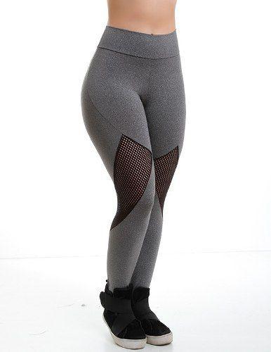 971c1d146 Calça Legging Suplex Academia Fitness - Cor Cinza - Veste bem você