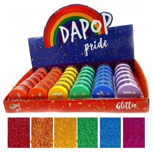 Sombra Glitter Pride Dapop DP2003 - Display C/ 36 Unid