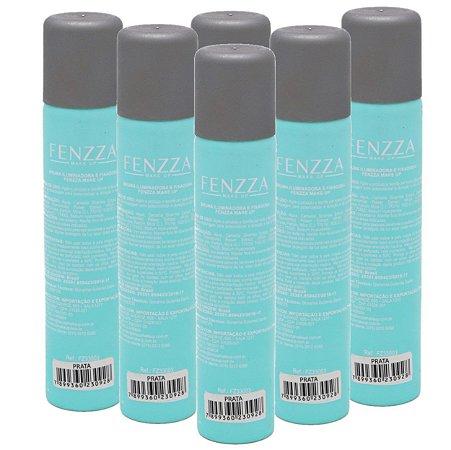 Fenzza - Bruma Fixador de Maquiagem  Prata - Kit C/ 6 Unid