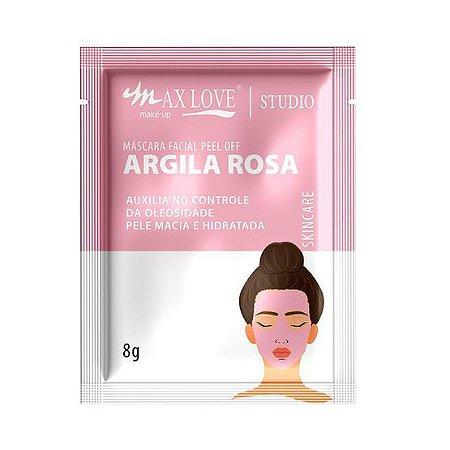 Mascara Facial Argila Rosa Peel Of Max Love