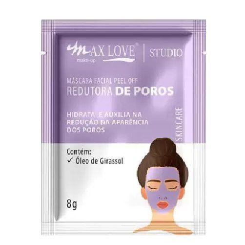 Max Love - Mascara Facial Peel Off Redutor de Poros