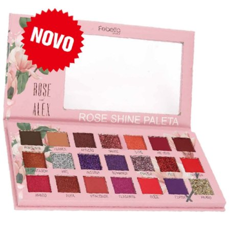 Febella - Paleta de Sombras Rose Shine  PSO30315