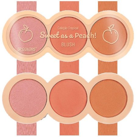 SpColors - Blush  Sweet As a Peach SP204 - Display C/ 24 Unid