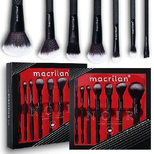 Macrilan - Kit de Pincéis Noir - 3 Kits