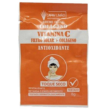 CAPIM LIMÃO - Mascara Sachê Creme Vitamina C - Unitario
