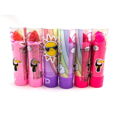 Maria Pink - Batom Cremoso Infantil Candy  MP10001 - 06 Unid