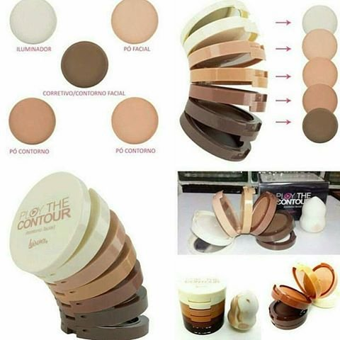 Luisance Play The Contour Paleta Facial 5 Etapas 32g. (L779)