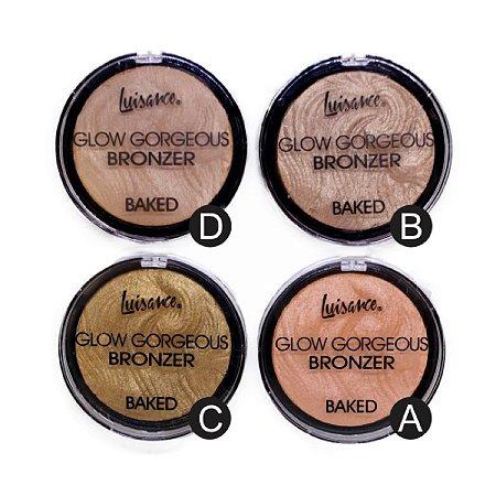 Bronzeador Iluminador Baked Glow Gorgeous Luisance L3033 ( 04 unidades )