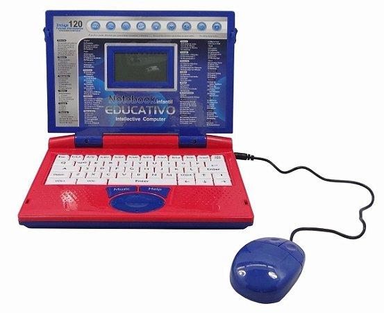 Computador Notebook Infantil Educativo Masculino / Feminino 120 Funções