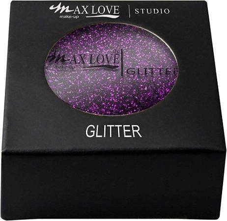 Sombra Glitter Max Love Cor 14 Roxa