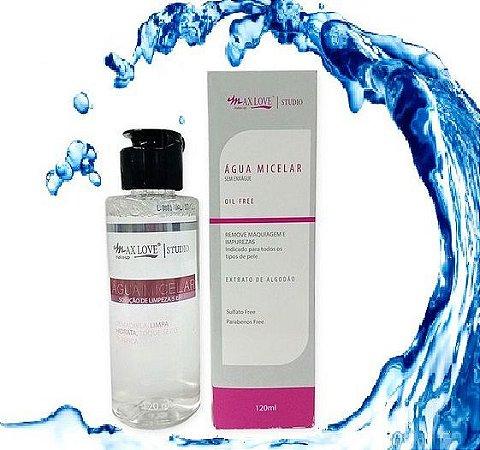 Água Micelar Max Love 120 ml