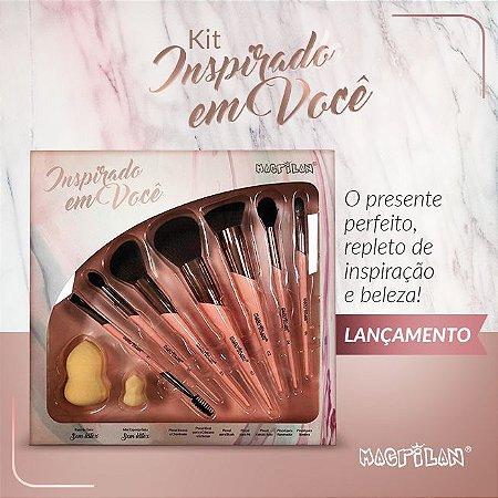Kit de Pincéis Inspirado em Você Macrilan ED200