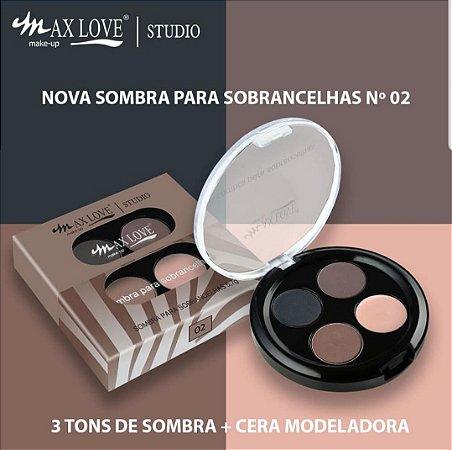 Display de Kit para Sobrancelhas N* 02 Max Love ( 24 Unidades + Provador )