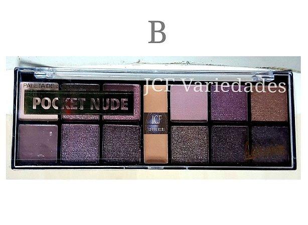 Paleta de Sombras Matte e 3D Luisance Pocket L789-B