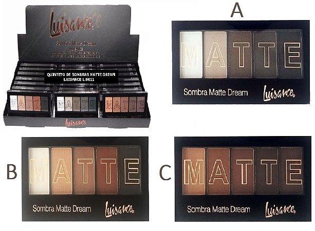 Paleta de Sombras Matte Dream Luisance L6011 ( 24 unindades )