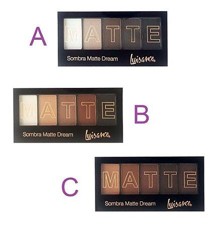 Paleta de Sombras Matte Dream Luisance L6011 ( 03 unidades )