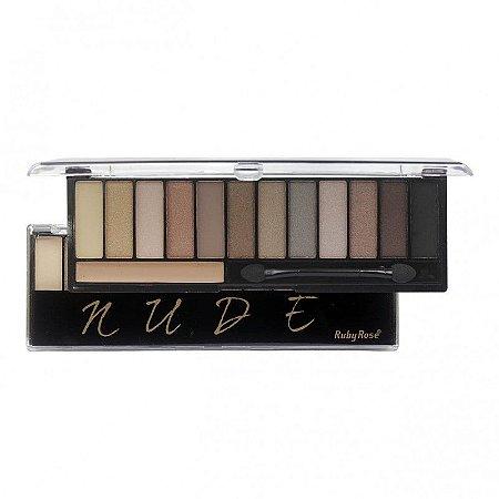 Ruby Rose - Paleta de Sombras Matte  Nude HB 9911 ( 12 Unidades )
