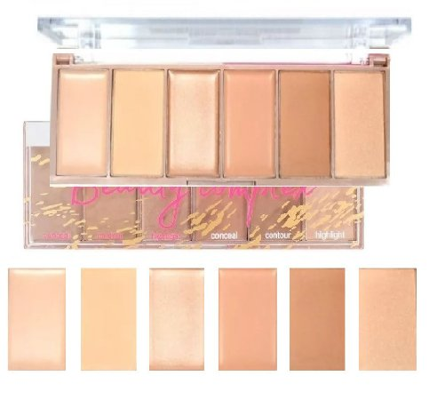 Paleta de Cortono Beauty Complex Light & Dark HB-7518 Ruby Rose ( 12 Unidades )