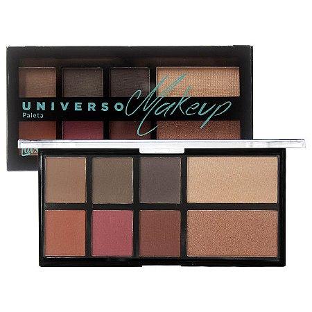 Paleta de Sombras e Iluminadores Universo Makeup L1031 Luisance Cor A