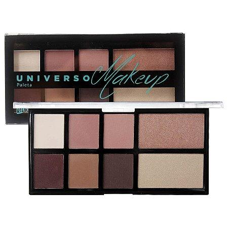 Paleta de Sombras e Iluminador Universo Makeup L1031 Luisance Cor B