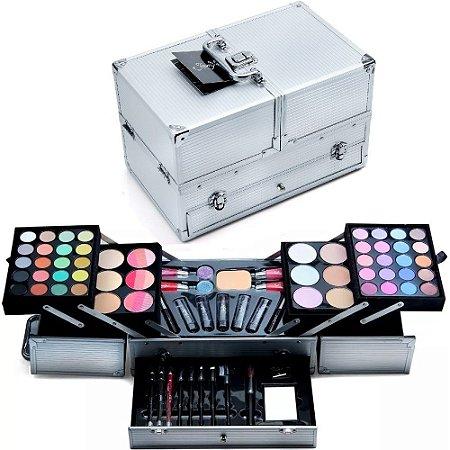 Maleta de Maquiagem Jasmyne Profissional Completa V641