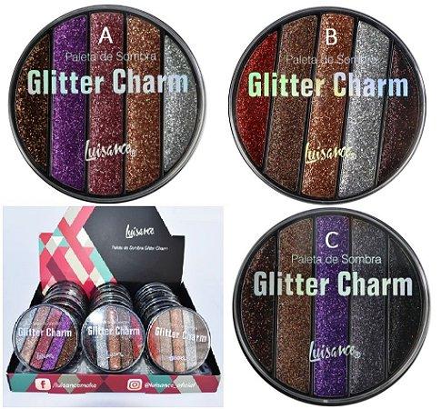 Estojo de Sombras Glitter Charm Luisance L6059 ( 24 Unidades )