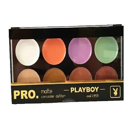 Paleta de Corretivo Pro Matte HB94722PB Playboy
