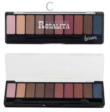 Paleta de 10 Sombras Rosalita Luisance L7103 C