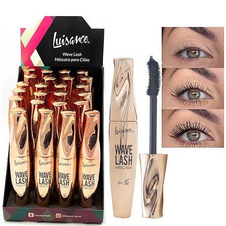 Luisance - Máscara para Cílios Wave Lash Alonga e Volume  L3056 ( 24 Unidades )