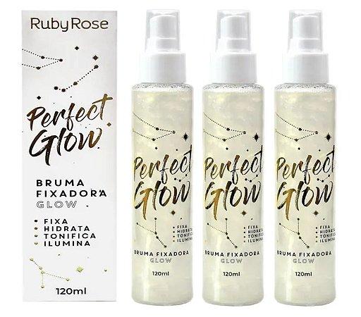 Bruma Fixadora Perfect Glow Ruby Rose HB334 ( 12 Unidades )