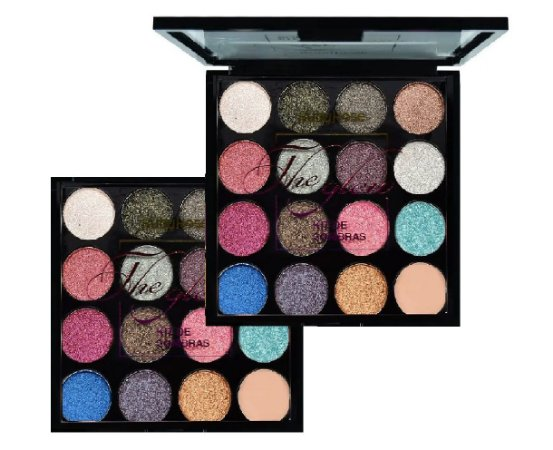 Paleta de Sombras The Glow 15 Cores Ruby Rose HB 1016