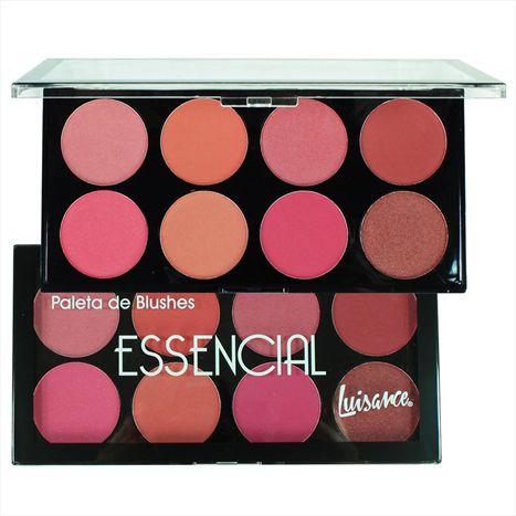 Paleta de Blush Essencial 8 Tons  Luisance L1062  ( 12 Unidades )