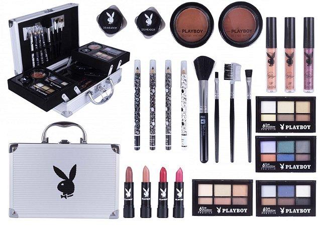 Maleta de Maquiagem Playboy HB94674