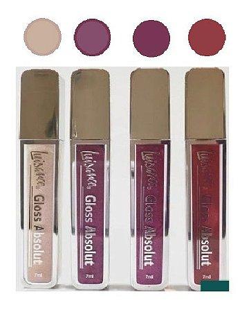 4 Lip Gloss Absolut Luisance L1082-A