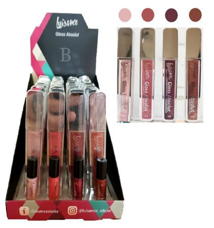 24 Lip Gloss Absolut Luisance L1082-B C/ Provadores