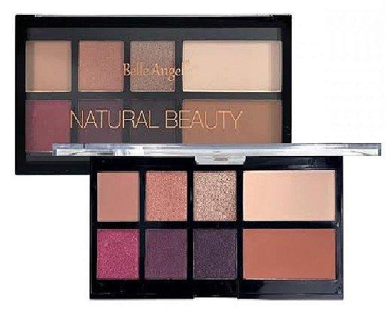 Paleta de Sombras e Contorno Luxo Natural Beauty Belle Angel T012