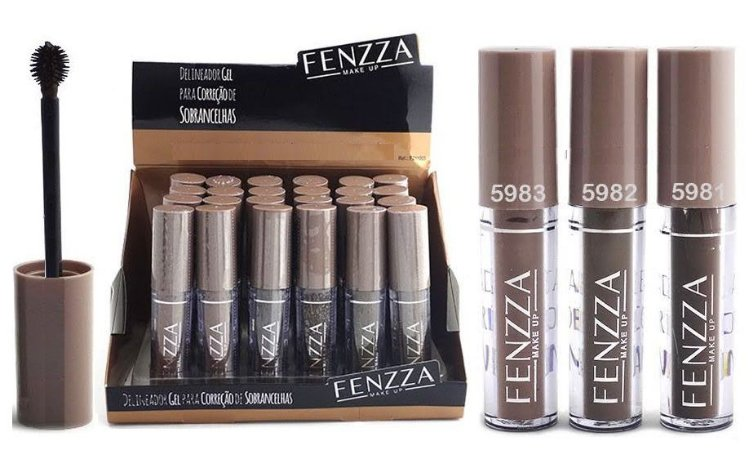 Display Gel para Sobrancelha Fenzza FZ11003 ( 24 Unidades )