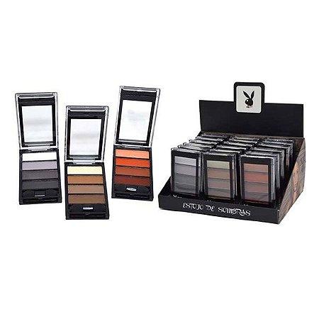 Display de Paletas de Sombras Matte Playboy HB89658 ( 18 Unidades )