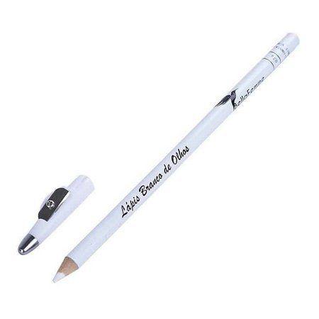 01 Lápis de Olho Branco com Apontador BF10051B