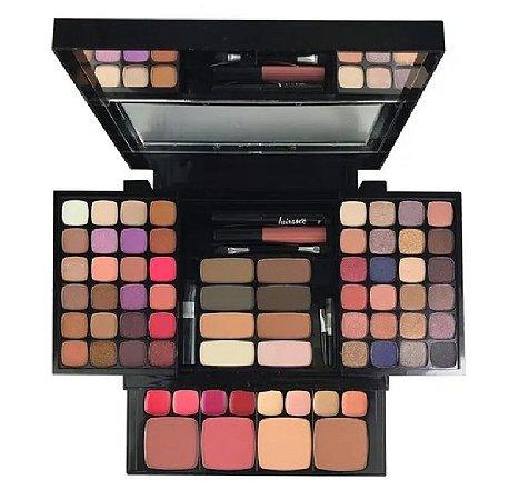Estojo De Maquiagem Complato Love Yourself Luisace L983 - 74 itens
