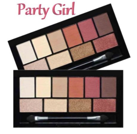 Paleta de Sombras Party Girl CG119 - Cor A